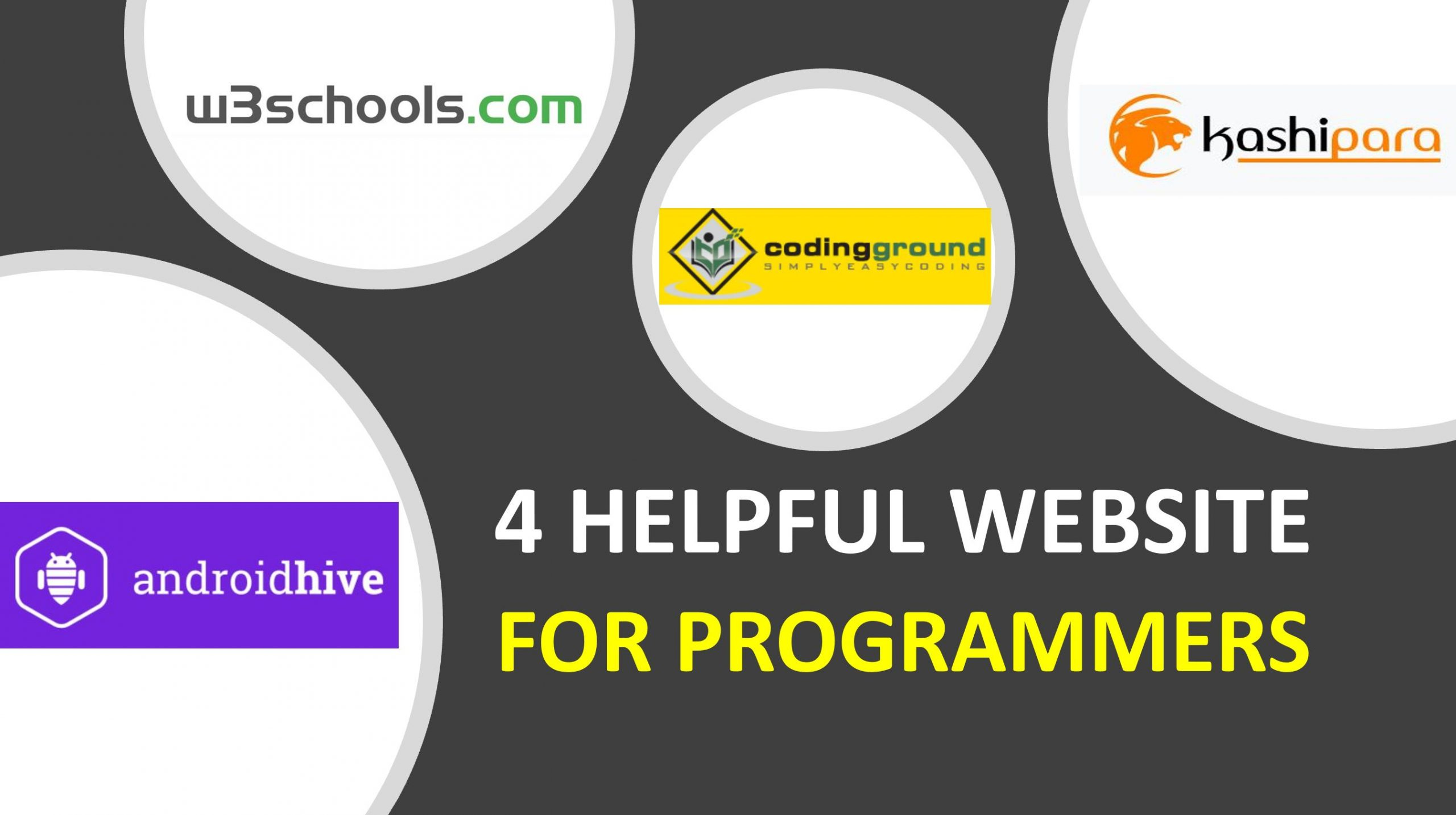 4 Helpful sites for programmers