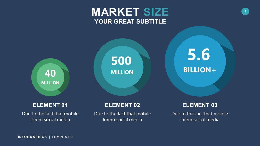 Business Dark Infographic PowerPoint 3