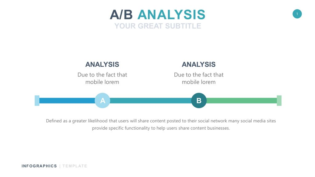 Business White Infographic PowerPoint 1