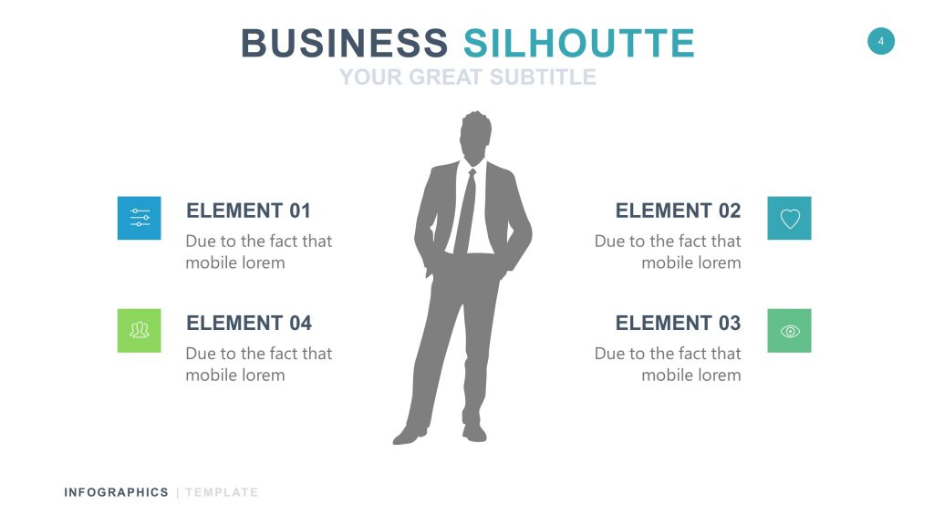 Business White Infographic PowerPoint 4