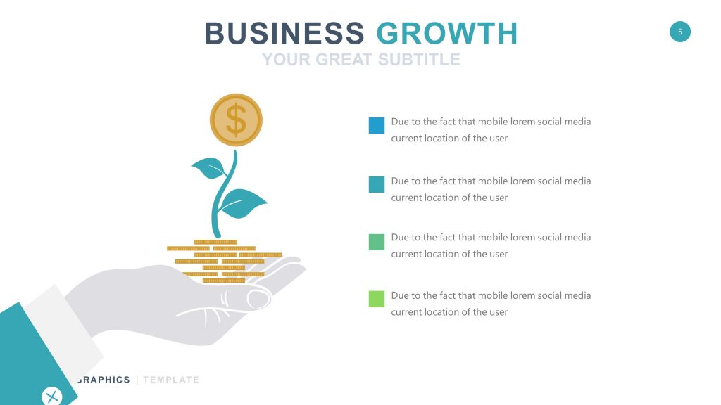 Business White Infographic PowerPoint 5