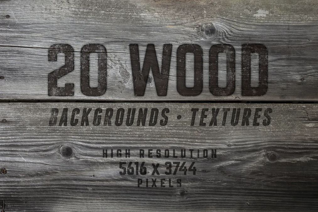 20 Wood Textures