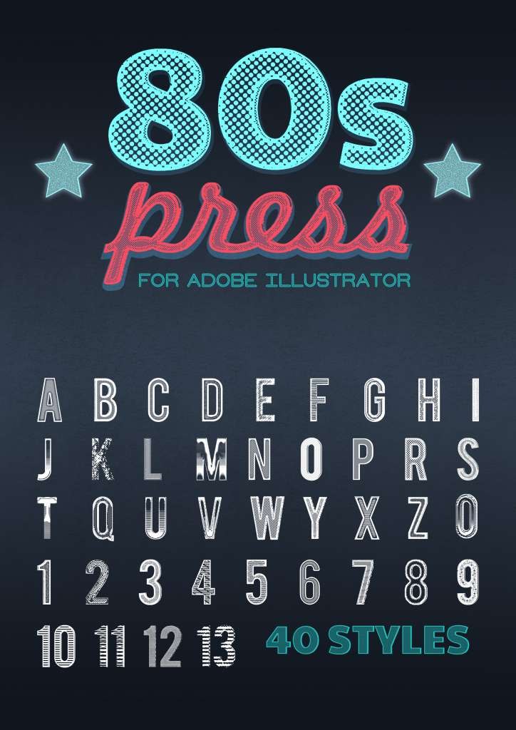 80s Press for illustrator