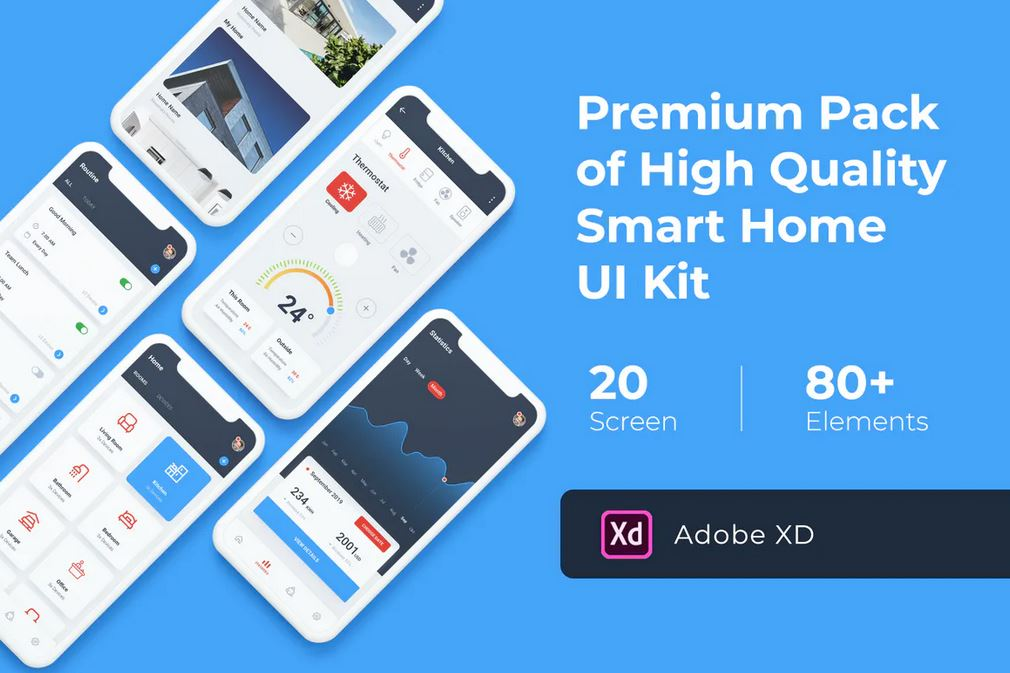 Smart Home Mobile UI Kit
