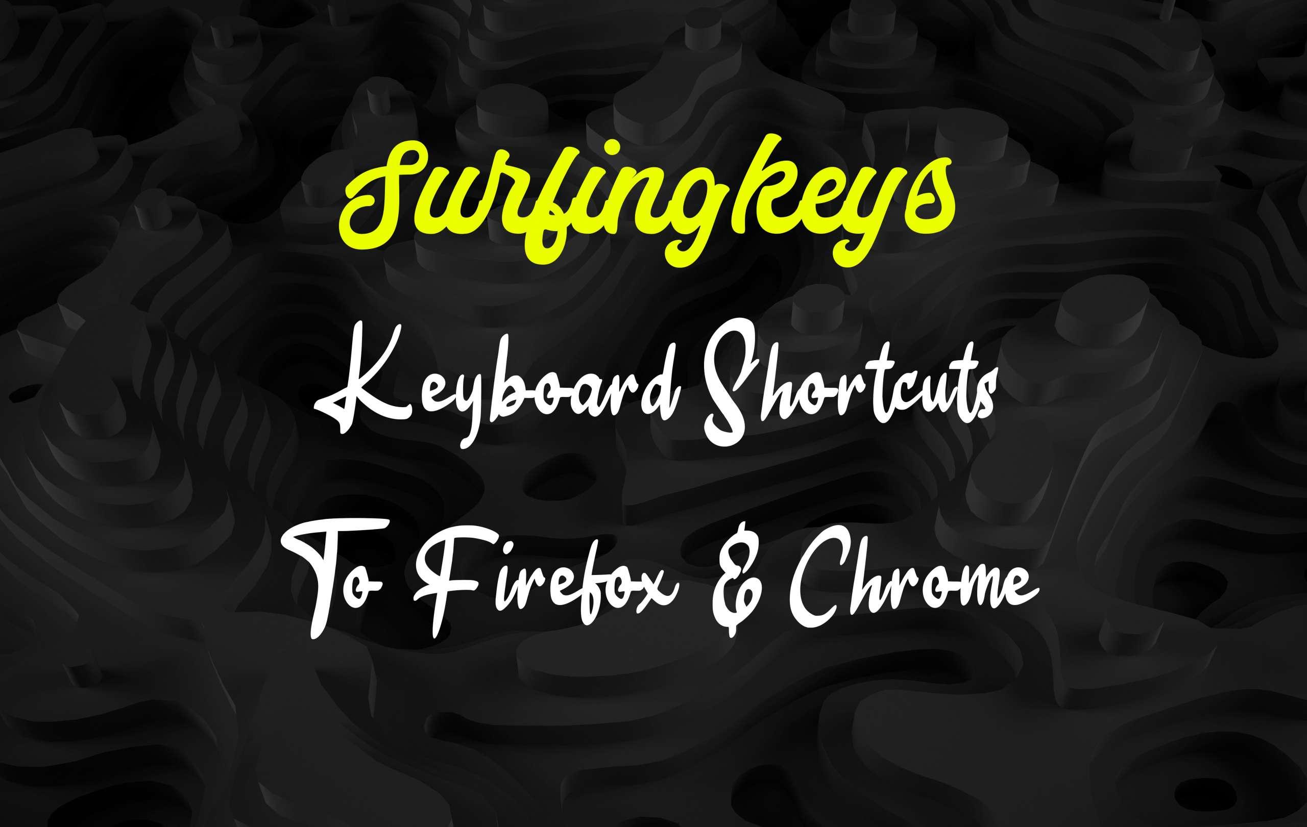 Surfingkeys