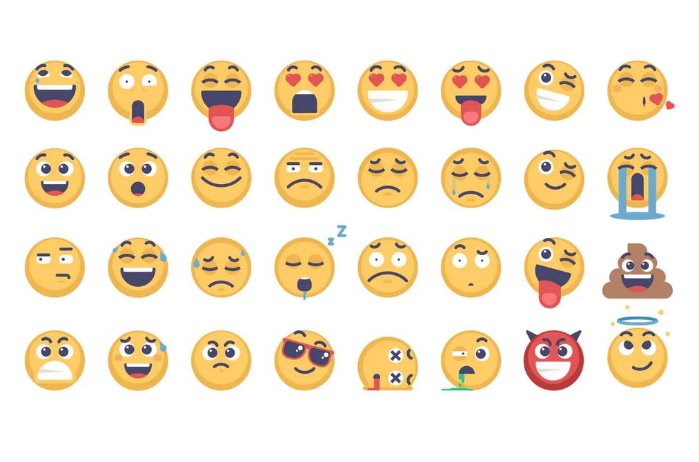 32 Emoji and Emoticons Pack