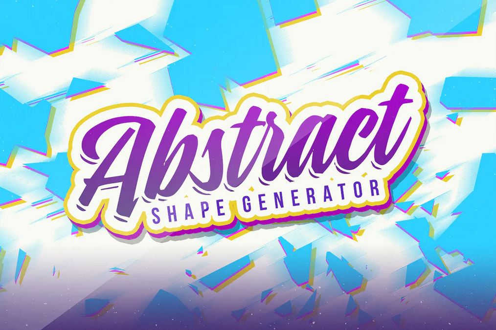 Abstract Shape Generator for Illustrator