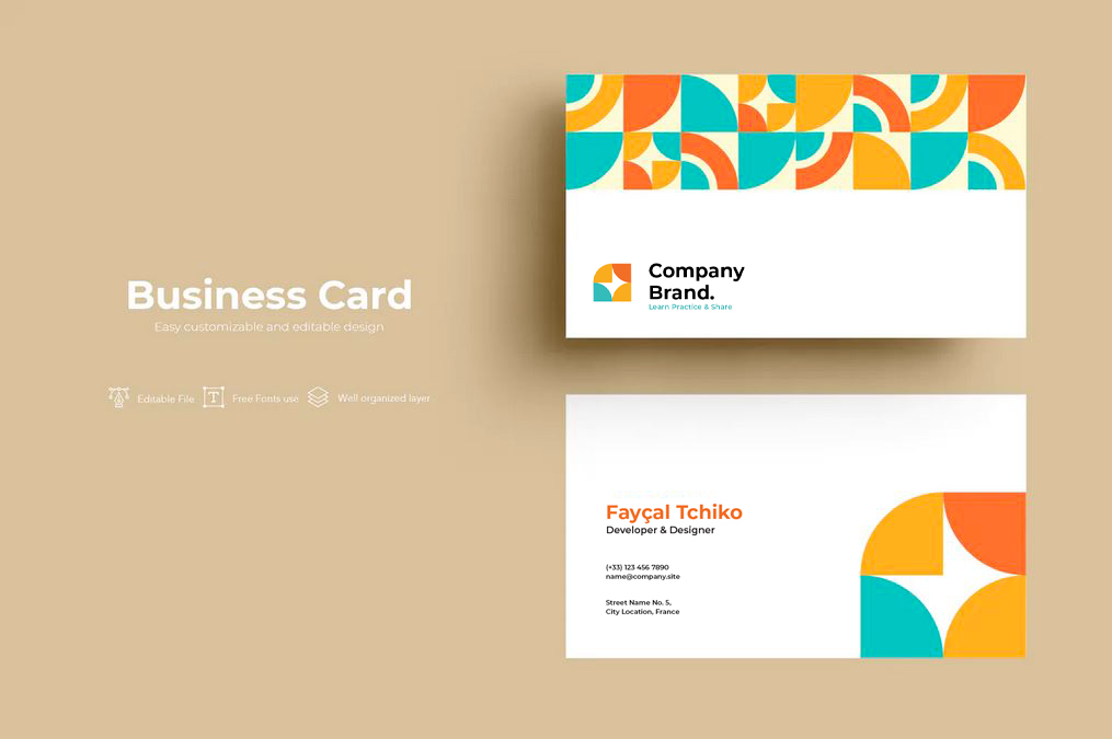 Creative Business Cards Template 1