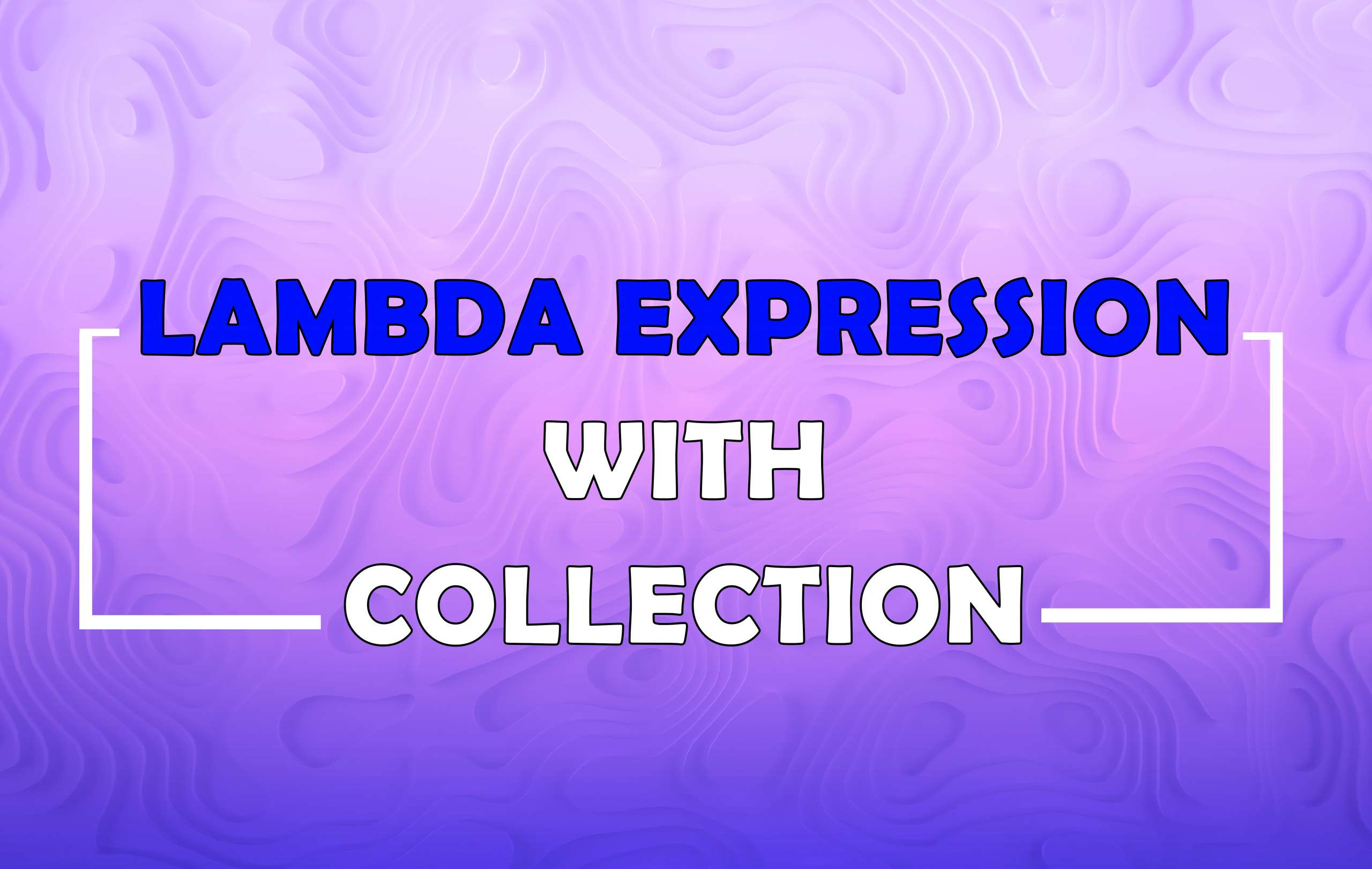 Lambda Expressions with Collections in Java 8
