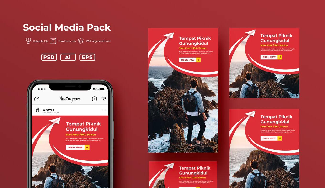 Social Media Pack.v2.10