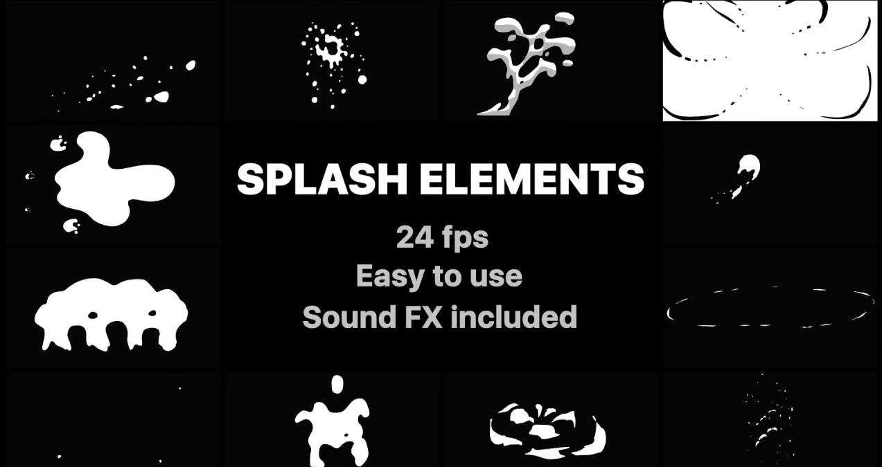 Splash Elements for After Effects