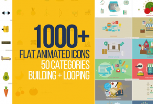 1000+ Flat animated icons