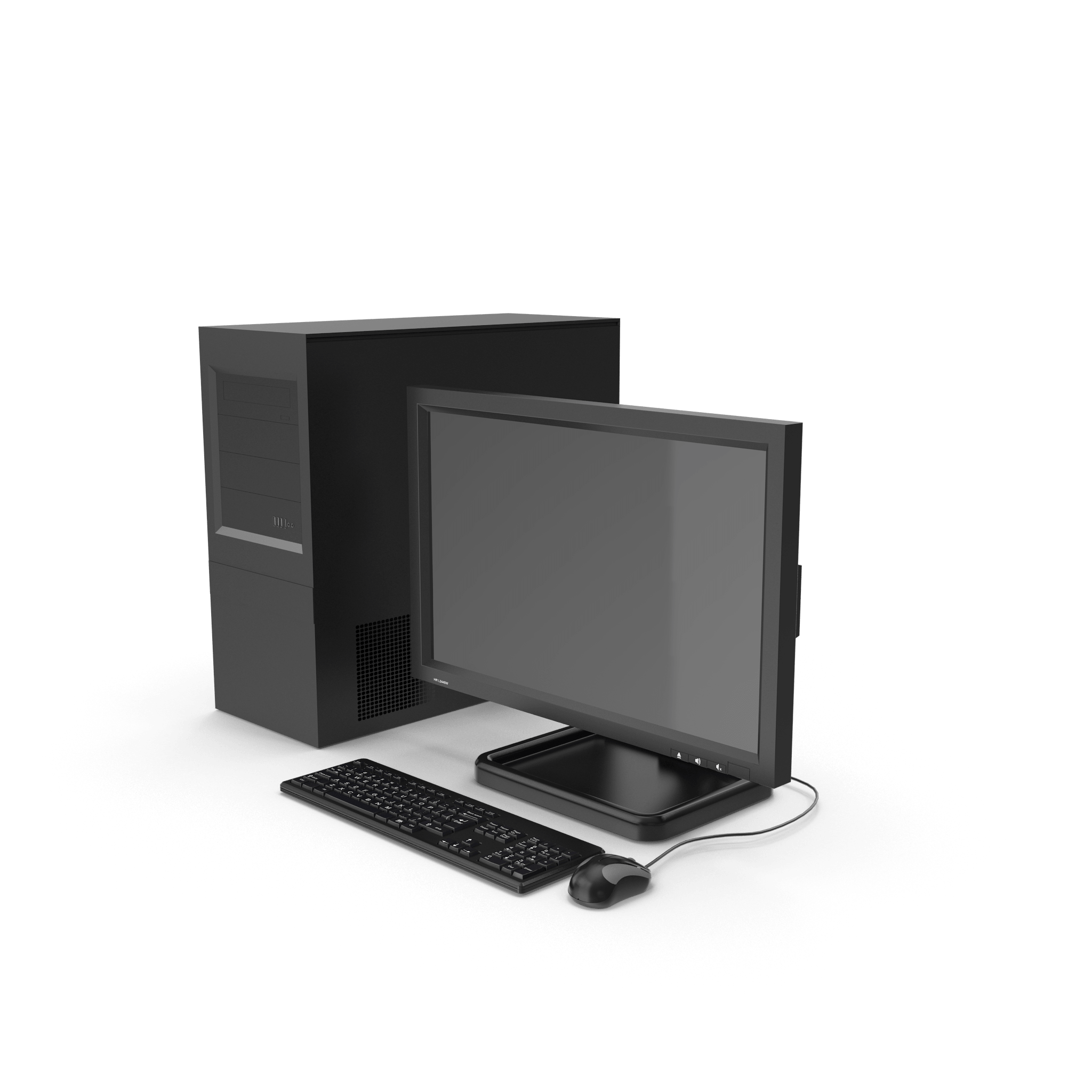 3D Computer Monitor for After effects