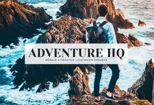 Adventure HQ Mobile Desktop Lightroom