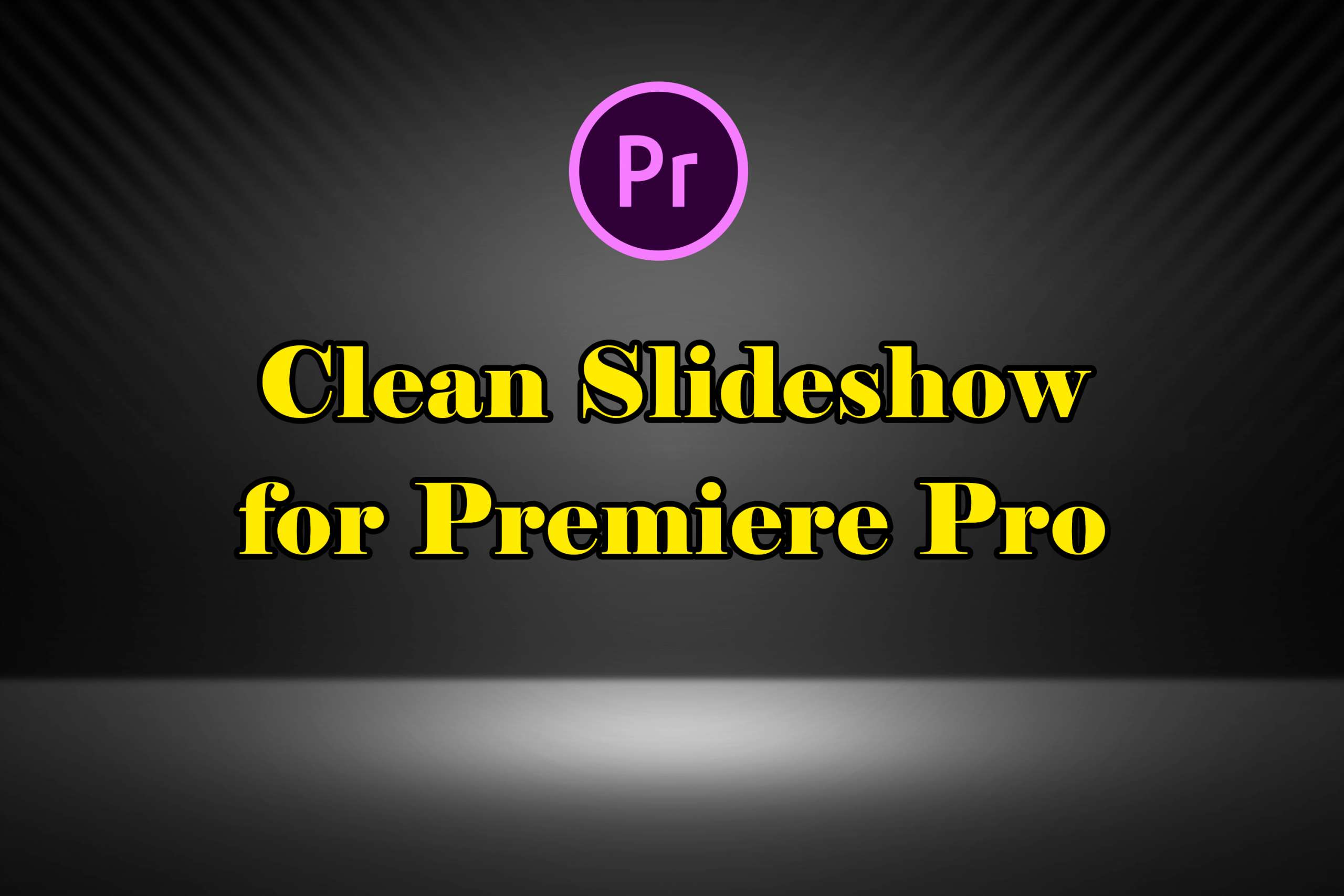 Clean Slideshow for Premiere Pro