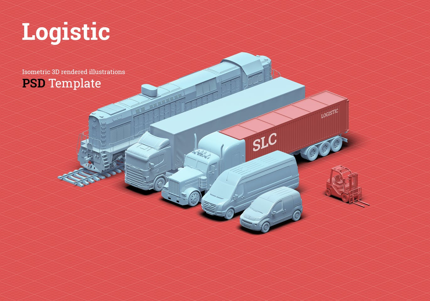3D Scene Generator Transport & Logistic 1