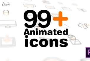 99 animated icons