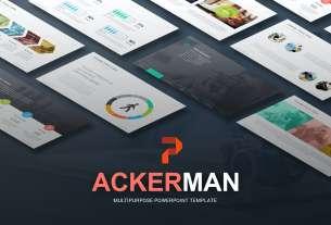Ackerman - Multipurpose Powerpoint Template