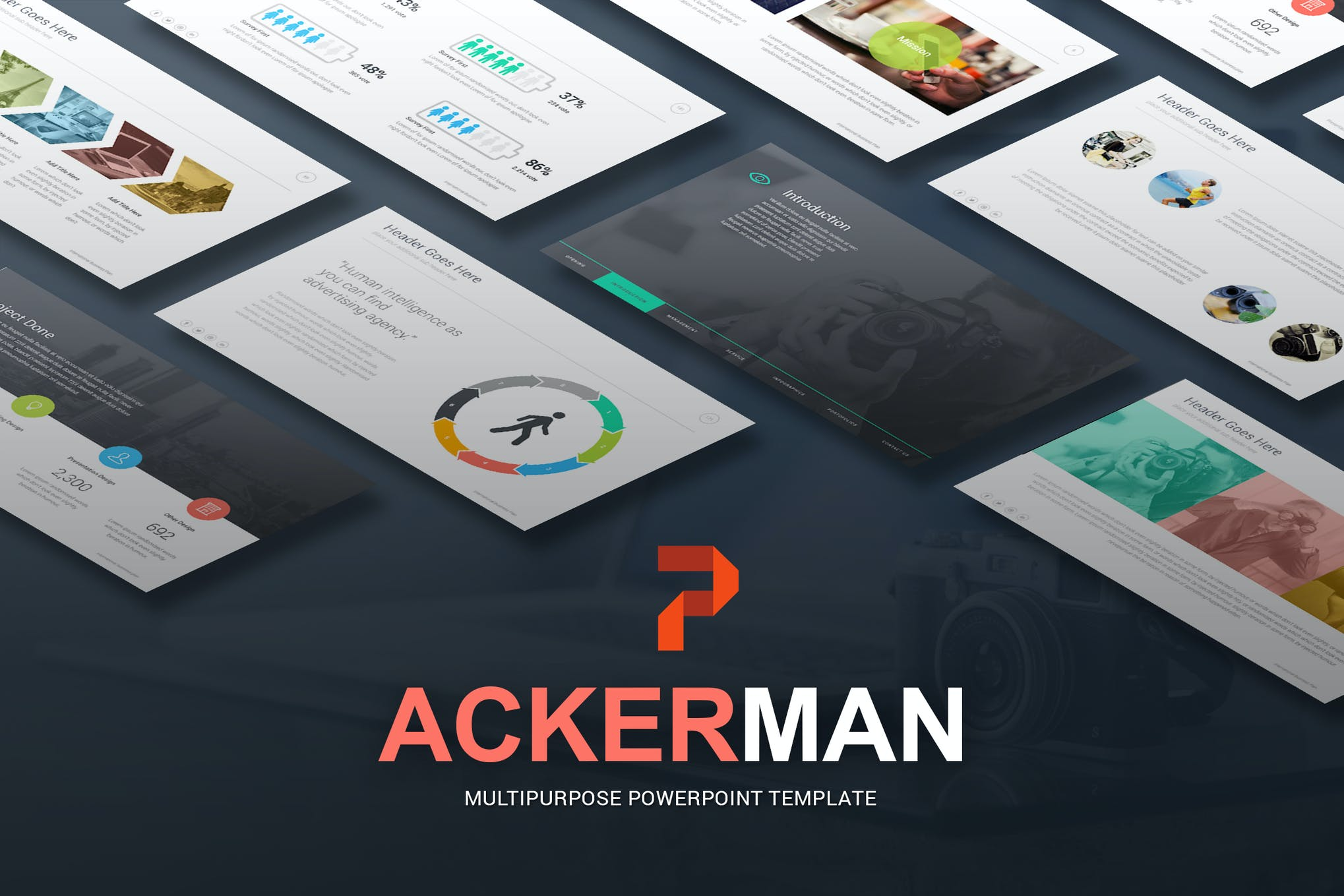 Ackerman - Multipurpose Powerpoint Template