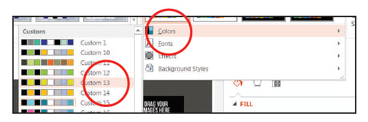 How to change Theme color