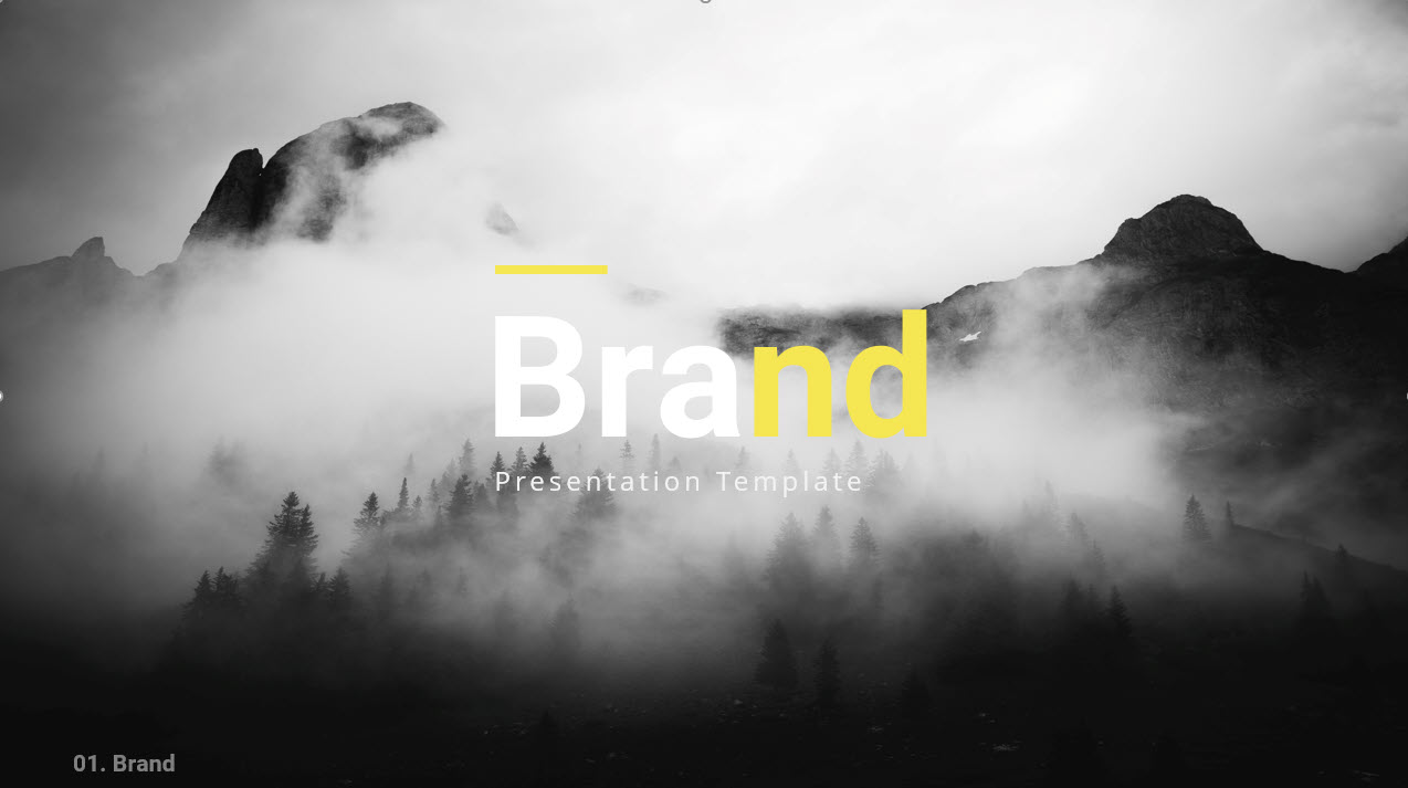 Your Brand Google Slides Template