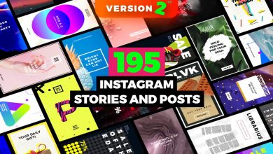 Photo of [After Effects] 195 Instagram Stories and Posts