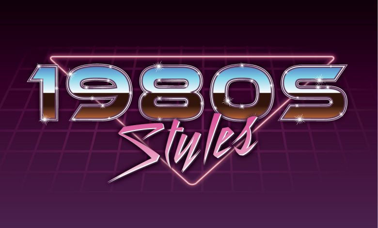 1980s Graphic Styles for Illustrator
