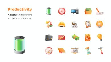 Photo of 20 Productivity Icons