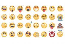 Photo of [Illustrator] 32 Emoji and Emoticons Pack