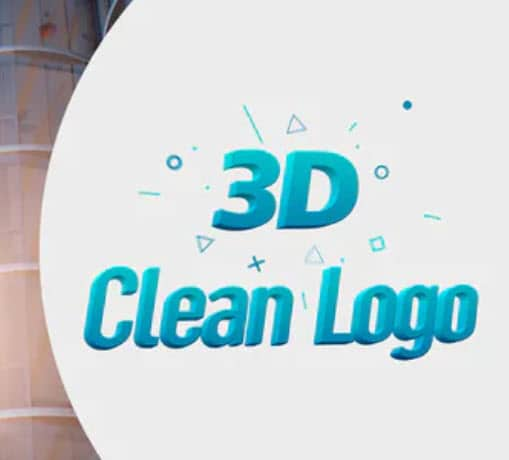 Photo of [After Effects] 3D Clean Logo