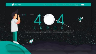 Photo of [Illustrator] 404 Error – Landing Page