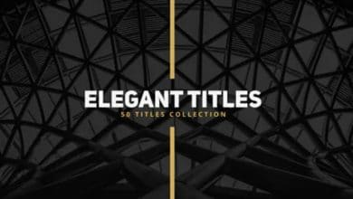 Photo of [After Effects] 50 Elegant Titles