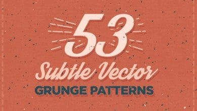 Photo of [Illustrator] 53 Subtle Vector Grunge Patterns