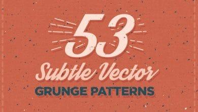 Photo of [Illustrator] 53 Subtle Vector Grunge Patterns