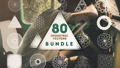 Photo of [Illustrator] 80 Geometric Vectors Bundle