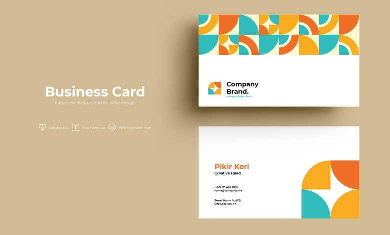 ADL Business Card V2.1 for Illustrator