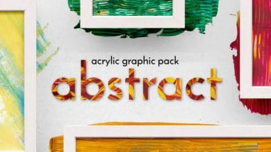 Photo of Abstract Acrylic Graphic Pack