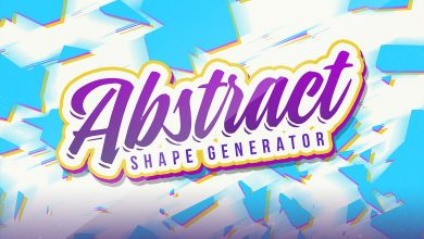 Photo of [Illustrator] Abstract Vector Shape Generator