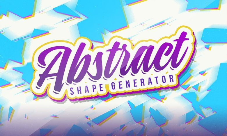 Abstract Vector Shape Generator for Illustrator