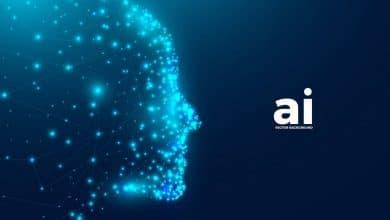Photo of [Illustrator] AI – Artificial Intelligence Background