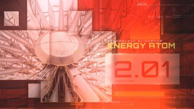 Photo of [After Effects] Energy Atom Techno Slideshow