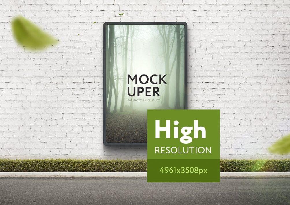 High Resolution Mock Up