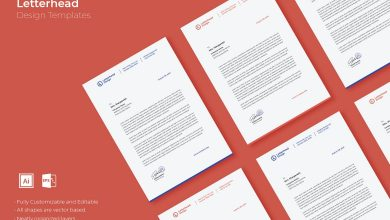 Photo of [Illustrator] Letterhead Design