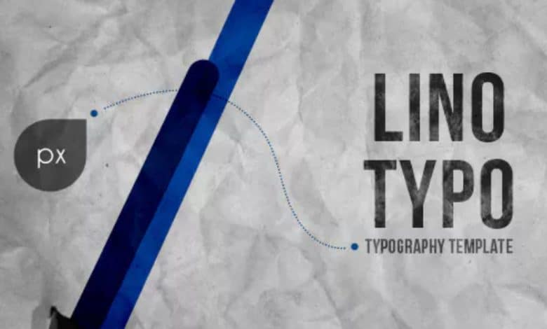 Lino Typography for After Effects