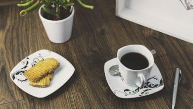 Photo of Coffee Tray Scene