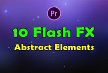 Photo of [Premiere Pro] 10 Flash FX Abstract Elements