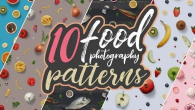 Photo of [Photoshop] 10 Food Photography Patterns