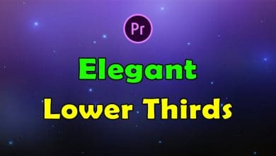 Photo of [Premiere Pro] 16 Elegant Lower Thirds