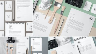 Photo of [Photoshop] 4 Stunning Stationery Mockups Set