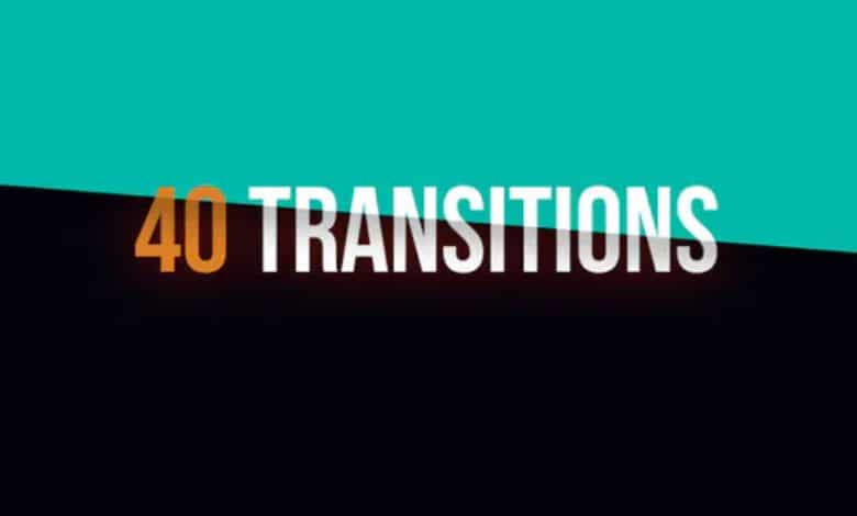 40 Colorful Transitions for Premiere Pro